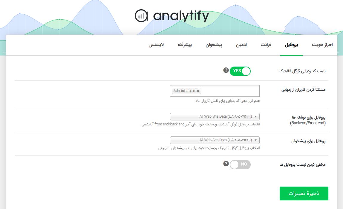 افزونه Analytify Pro